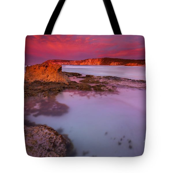 Pennington Dawn Tote Bag by Mike  Dawson