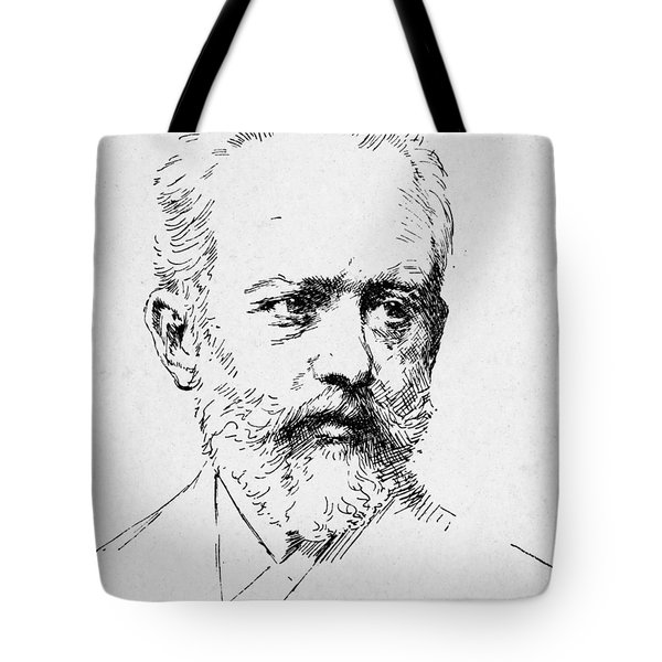 Peter Ilich Tchaikovsky Tote Bag by Granger
