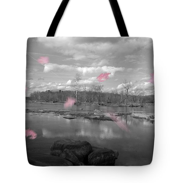 Tote Bag featuring the photograph Pink Fall by Kelvin Booker