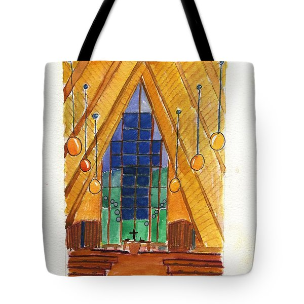 Placerville Chapel Tote Bag