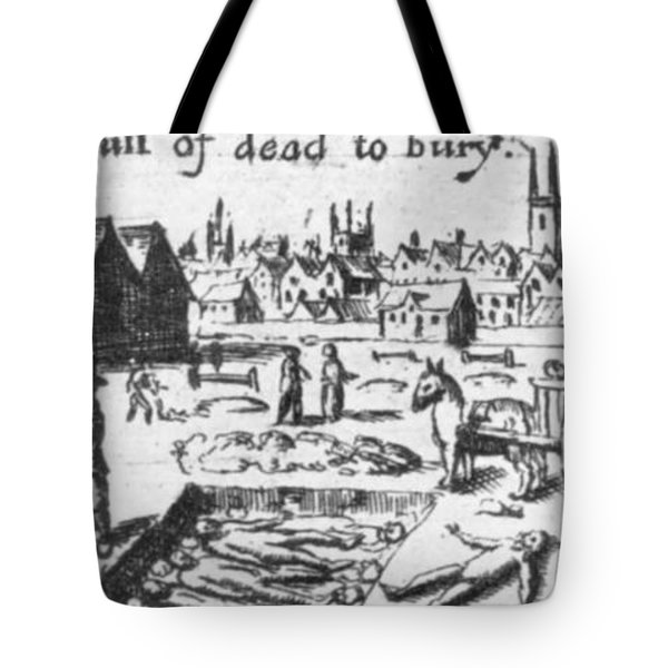 Plague, 1665 Tote Bag by Science Source