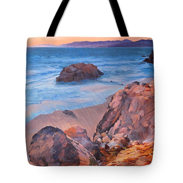 Point Lobos At San Francisco Tote Bag