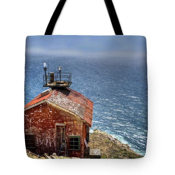 Point Reyes Lighthouse Tote Bag by Diego Re