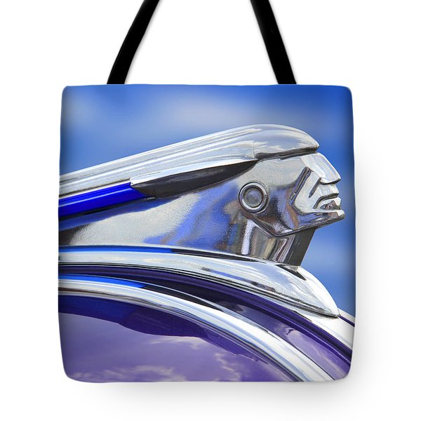 Pontiac Hood Ornament  Tote Bag by Mike McGlothlen