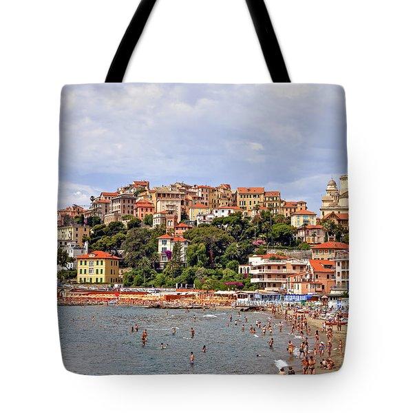 Porto Maurizio - Liguria Tote Bag by Joana Kruse