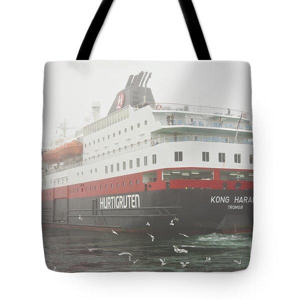 Post Ship  Tote Bag by Heiko Koehrer-Wagner