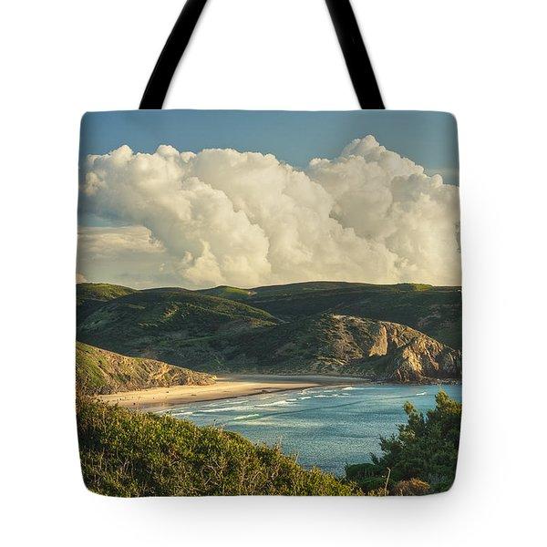 Praia Do Amado Tote Bag