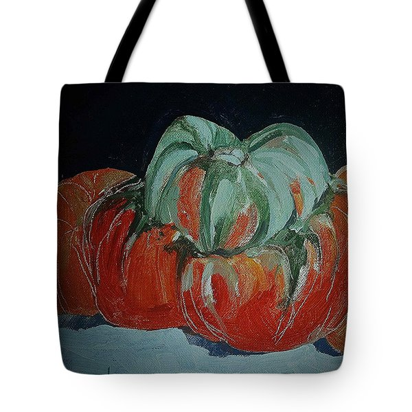 Pumpkin Tote Bag by Andrew Drozdowicz