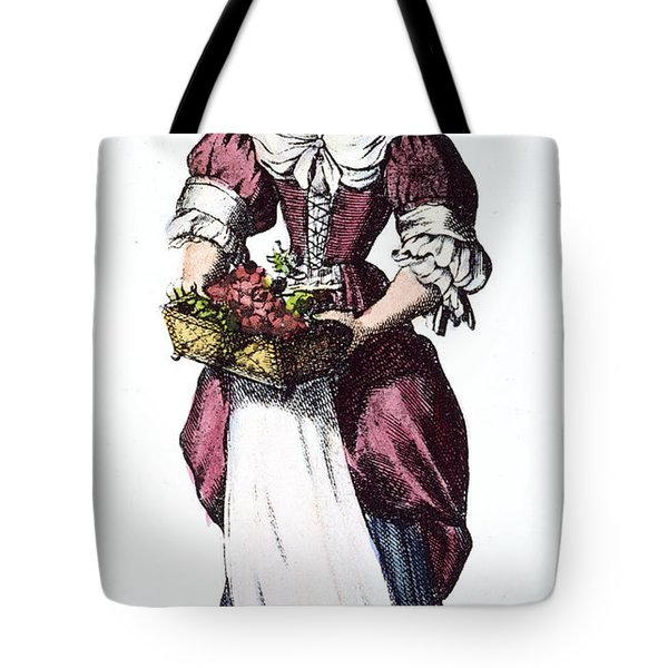 Quaker Woman 17th Century Tote Bag by Granger