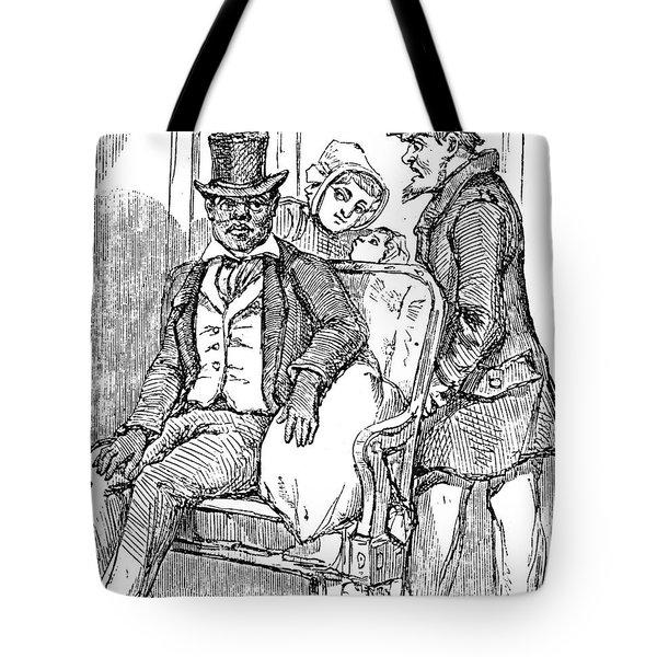 Railway Segregation, 1856 Tote Bag by Granger