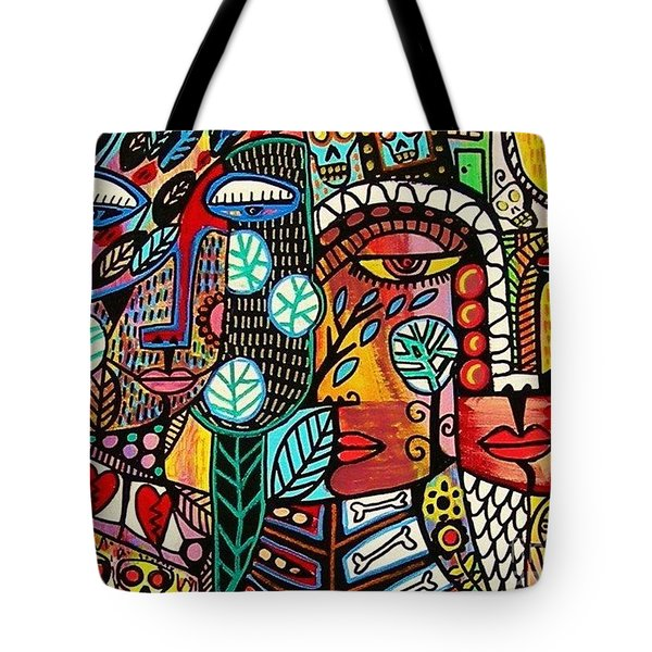 Rebirth Tree Of Life Tote Bag