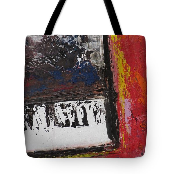 Red Piano Series 4 Tote Bag by Anita Burgermeister