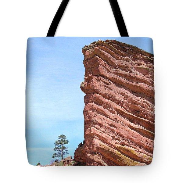 Red Rocks Tote Bag by Arlene Carmel