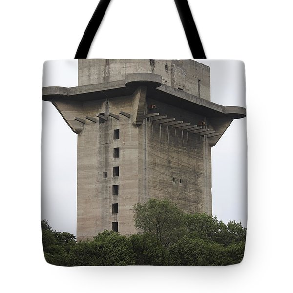 Remains Of Anti-aircraft L-tower Tote Bag by Richard Roscoe