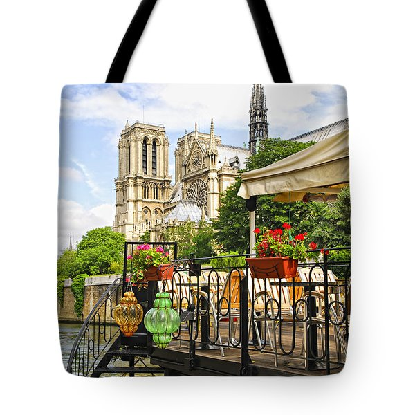 Restaurant On Seine Tote Bag