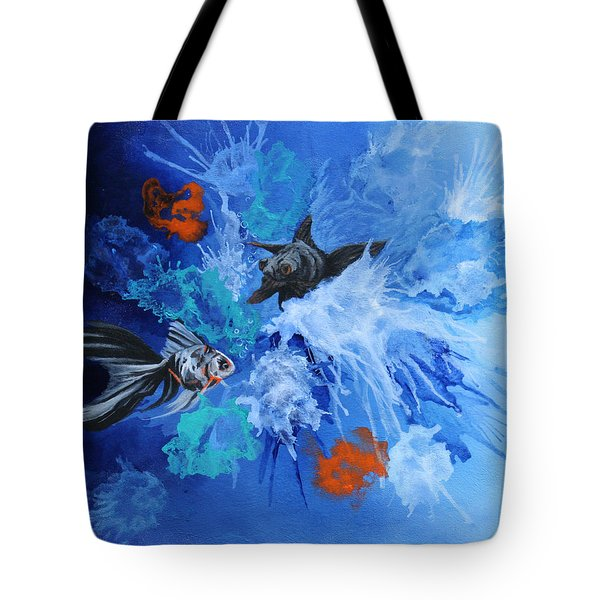 Richies Fish Tote Bag by Wendy Shoults
