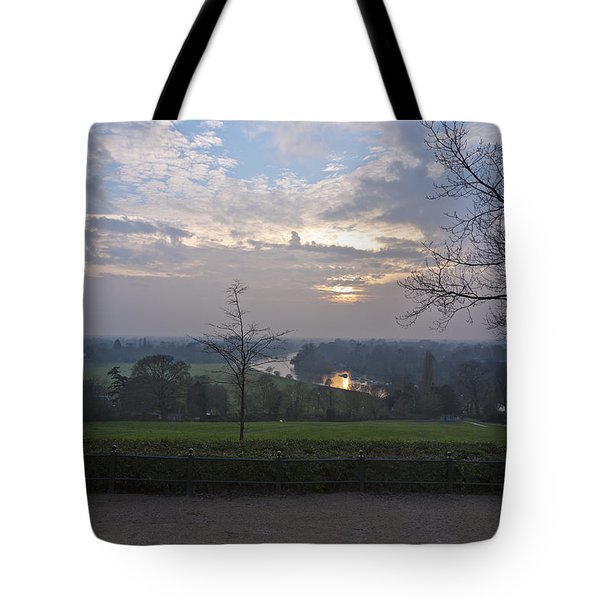 Tote Bag featuring the photograph Richmond Sunset by Maj Seda