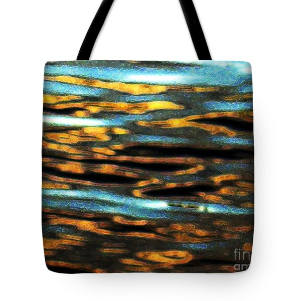 Ripples Tote Bag by Dale   Ford
