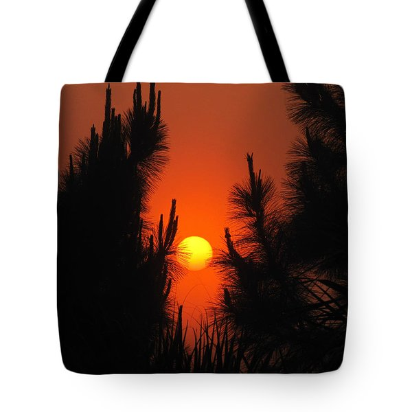 Rise And Pine Tote Bag