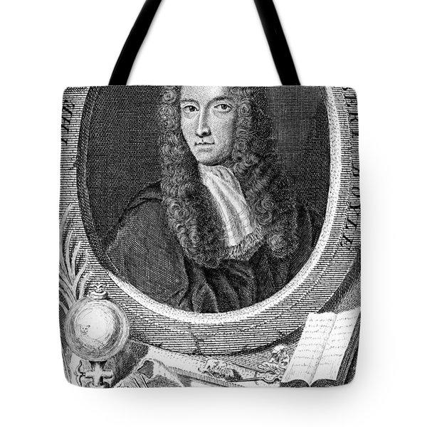 Robert Boyle, British Chemist Tote Bag by Science Source