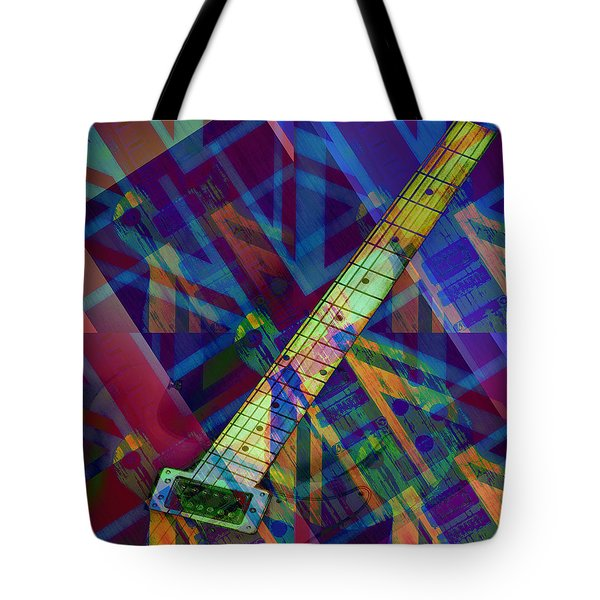 Rock And Roll Tote Bag by Bill Cannon