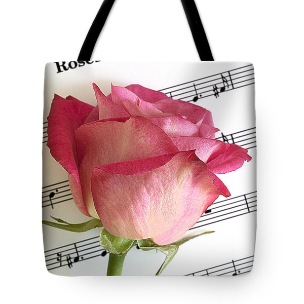 Roses And Wine Tote Bag