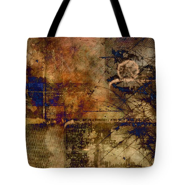 Royal Gold Tote Bag by Christopher Gaston