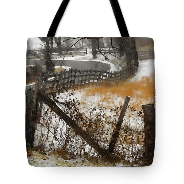 Rural Route Tote Bag by Ron Jones