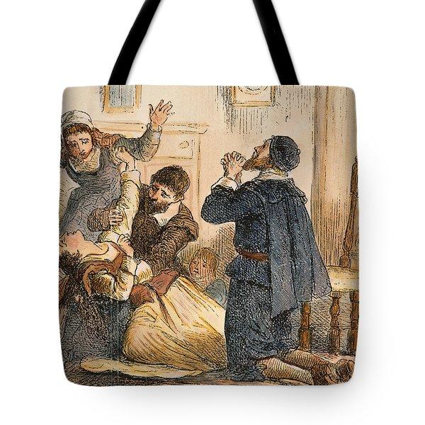 Salem Witchcraft, 1692 Tote Bag by Granger
