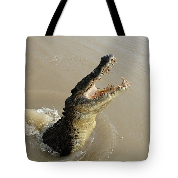 Salt Water Crocodile 2 Tote Bag