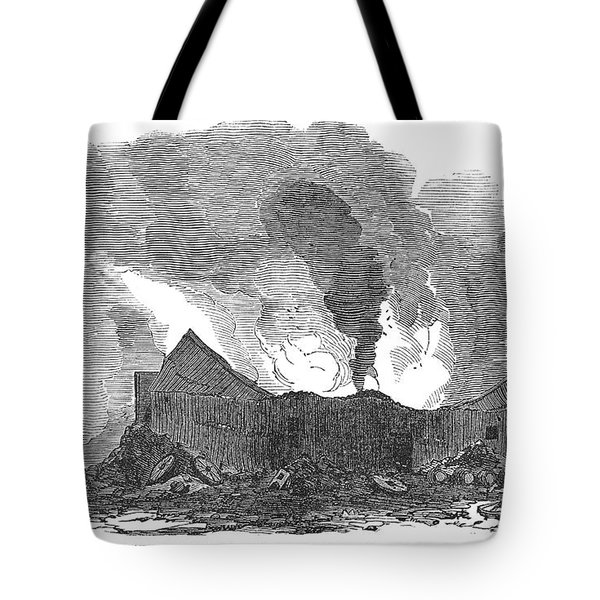 San Francisco: Fire, 1851 Tote Bag by Granger