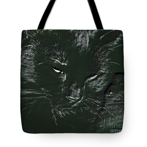 Tote Bag featuring the photograph Satin by Donna Brown