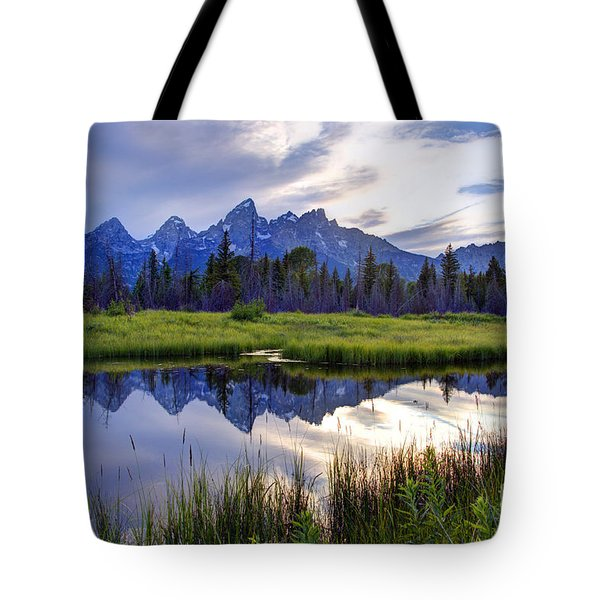 Schwabacher Landing - Grand Teton National Park Tote Bag