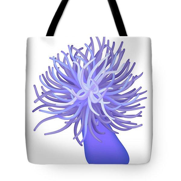 Sea Anemone Tote Bag by Michal Boubin