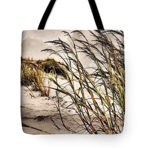 Sea Oats Tote Bag by Kristin Elmquist