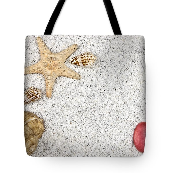 Seastar And Shells Tote Bag by Joana Kruse
