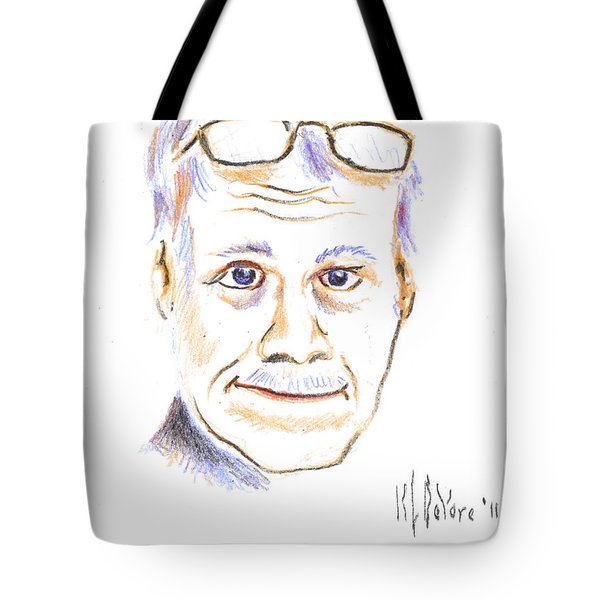 Self-portrait Tote Bag by Kip DeVore