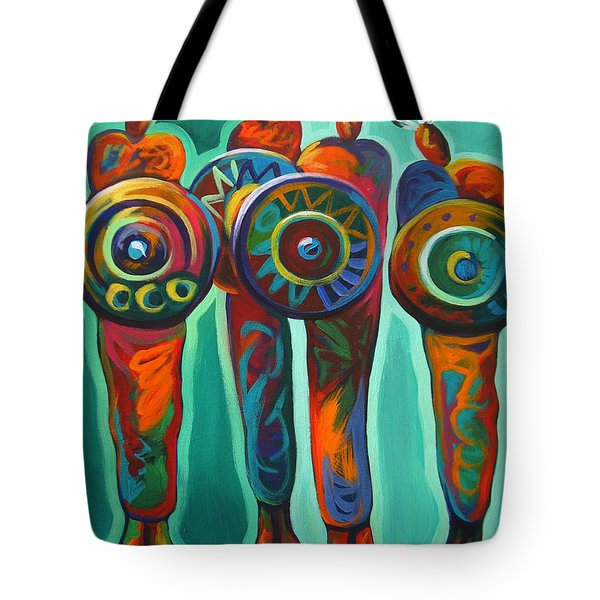 Seven Feathers Tote Bag by Lance Headlee