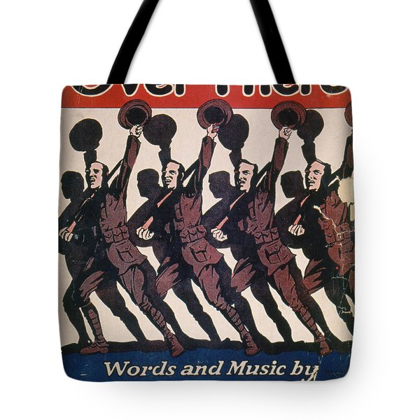 Sheet Music Cover, 1917 Tote Bag by Granger