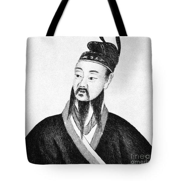 Shih Huang Ti (259-210 B.c.) Tote Bag by Granger
