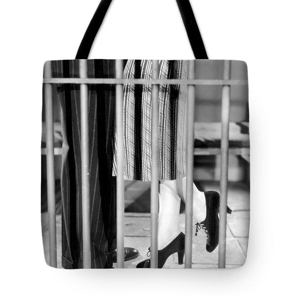 Silent Film Still: Legs Tote Bag by Granger