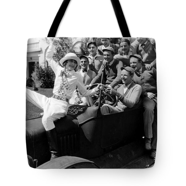 Silent Still: College Tote Bag by Granger