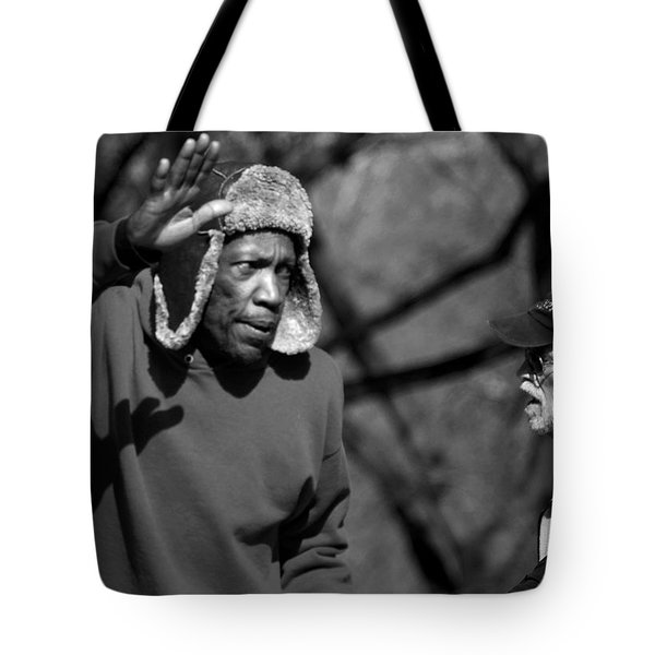 Skaters In Central Park Tote Bag by RicardMN Photography