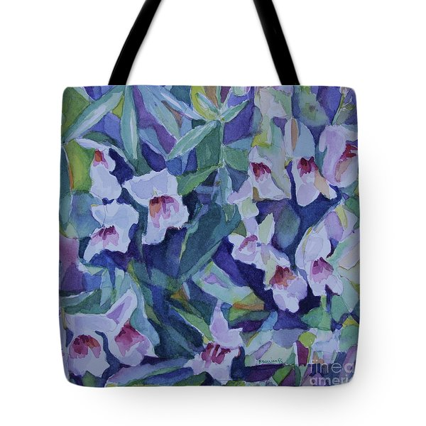 Snap Dragons Tote Bag by Jan Bennicoff