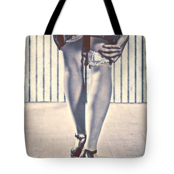 Sockings Tote Bag by Joana Kruse
