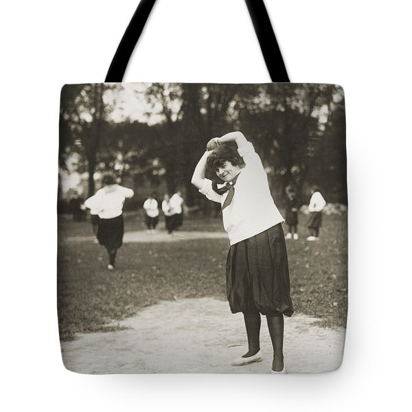 Softball Game Tote Bag by Granger
