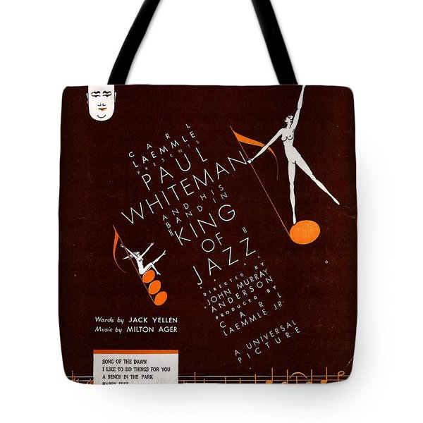Song Of The Dawn Tote Bag by Mel Thompson