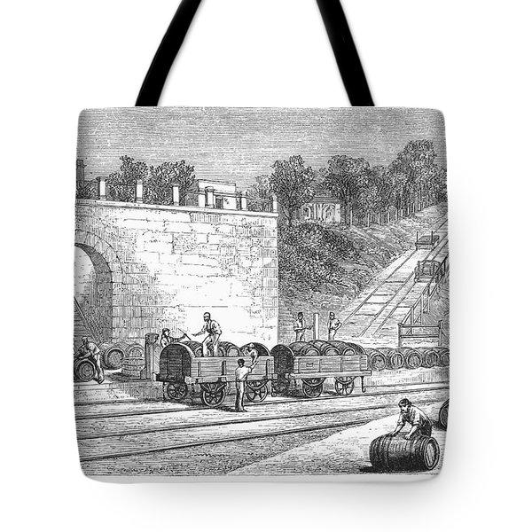 Spain: Winery Tote Bag by Granger