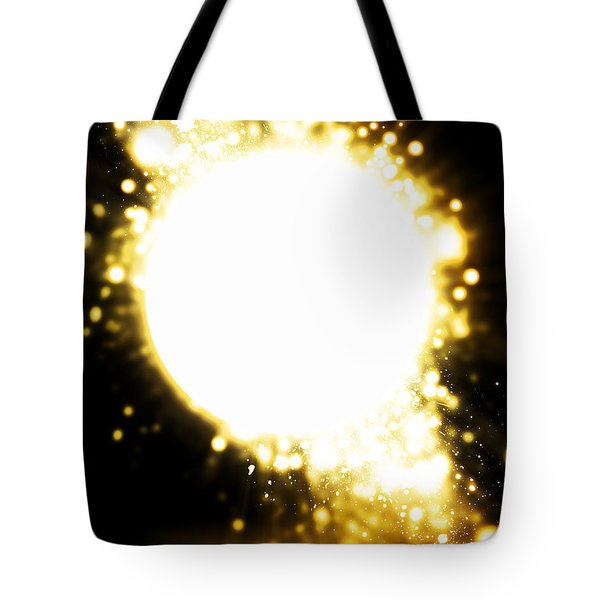 Sphere Lighting Tote Bag by Setsiri Silapasuwanchai