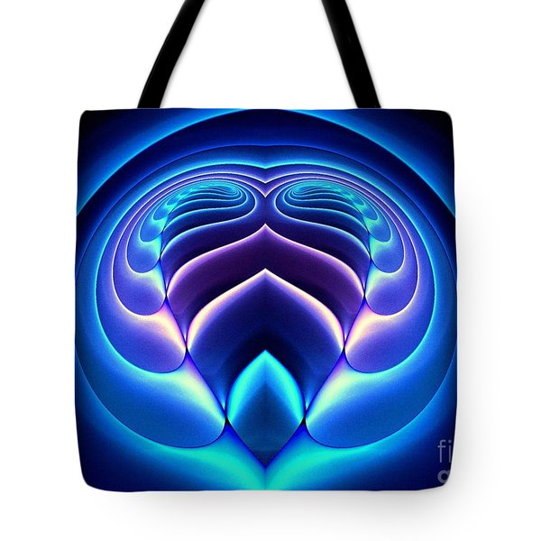 Spiral-3 Tote Bag by Klara Acel